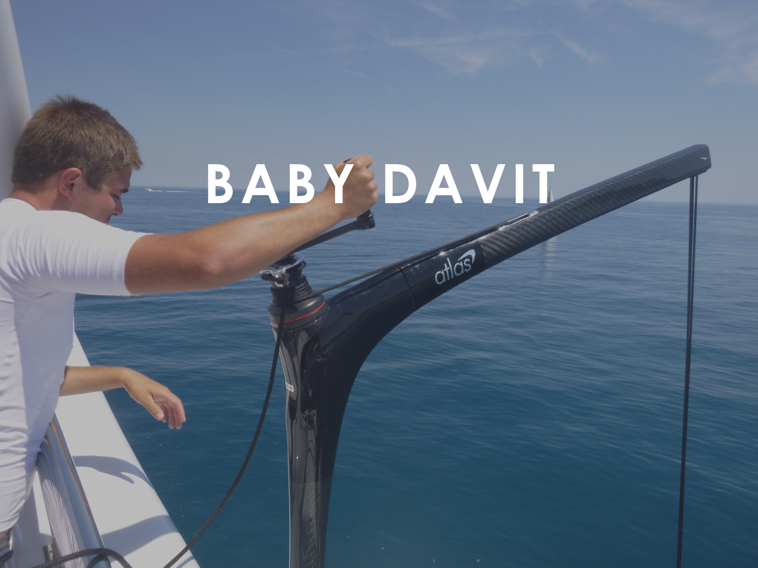 Atlas Carbon Products Baby Davit