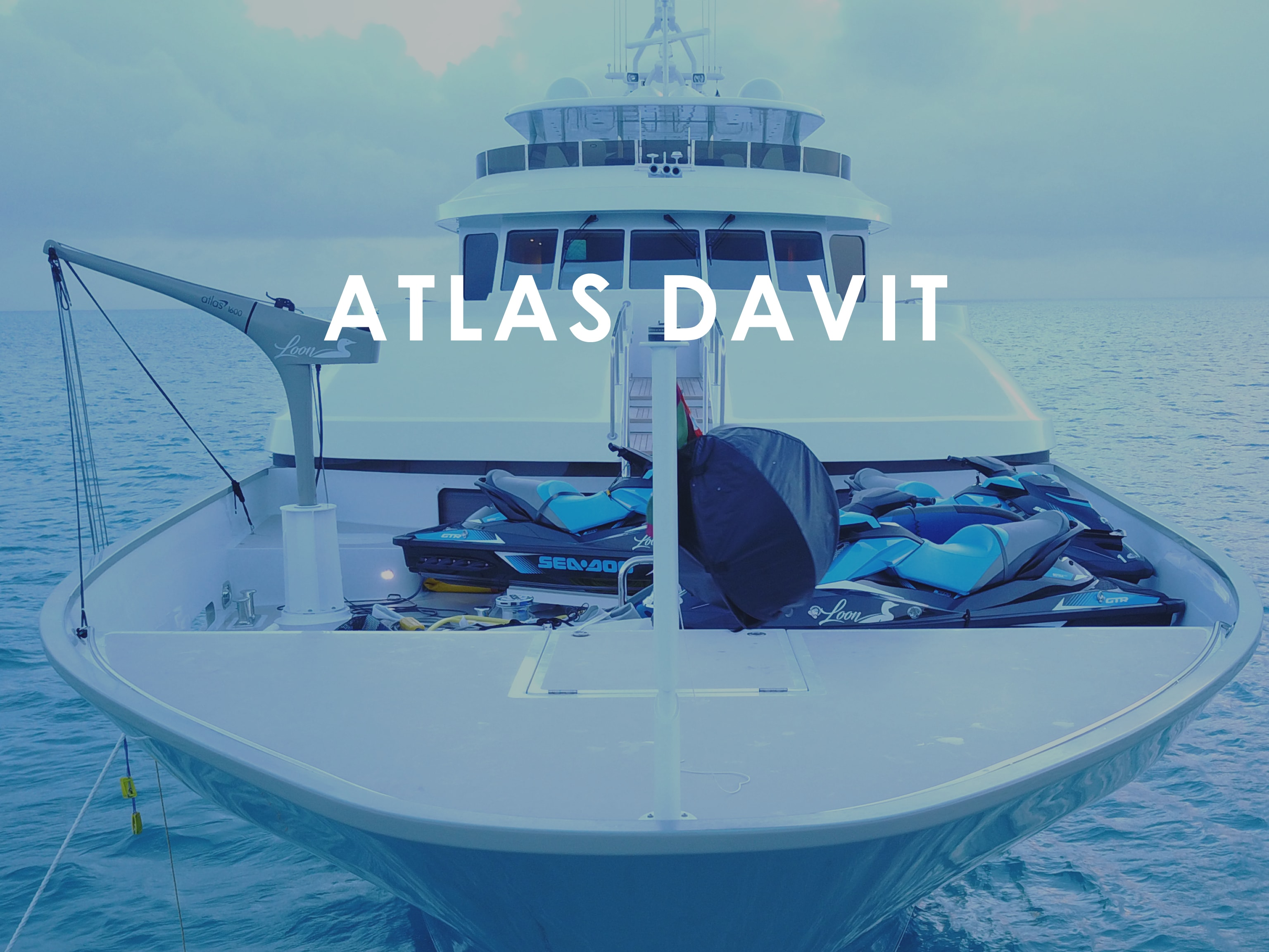 Atlas Carbon Products - Standard Davit